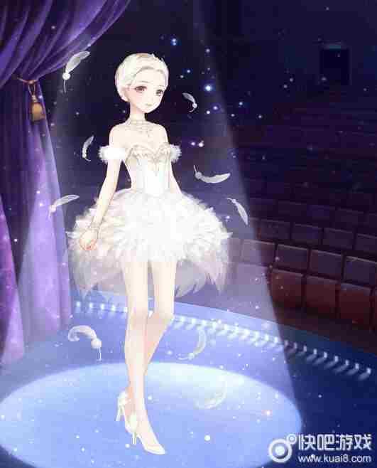 十二月剧团纯洁无瑕的白天鹅套装分享 奇迹暖暖人鱼之歌怎么获得