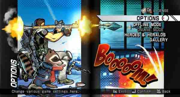 终极漫画英雄VS卡普空3按键设置说明