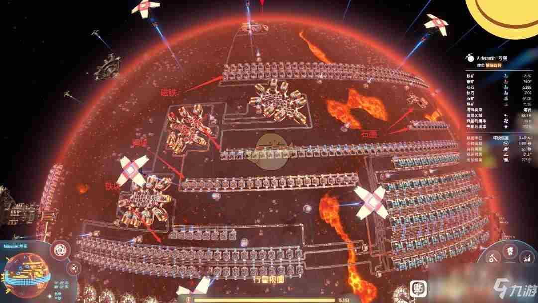 《戴森球计划》超级磁场环生产线攻略 布局详细介绍