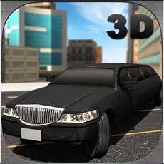 轿车车司机模拟器3D-驾驶豪华轿车和采取VIP客人的城市之旅
