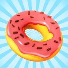 甜甜圈是美味的烹饪游戏