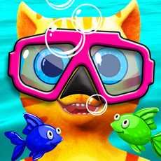 CatLeo'sFishHuntWaterRace