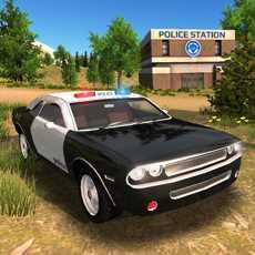 PoliceCardrivingOffroad4x4