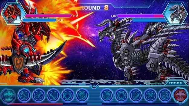 恐龙机器人大战铠甲金刚截图欣赏