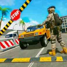 边境巡逻警察安全
