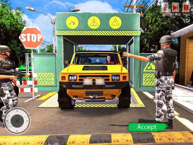 边境巡逻警察安全截图欣赏