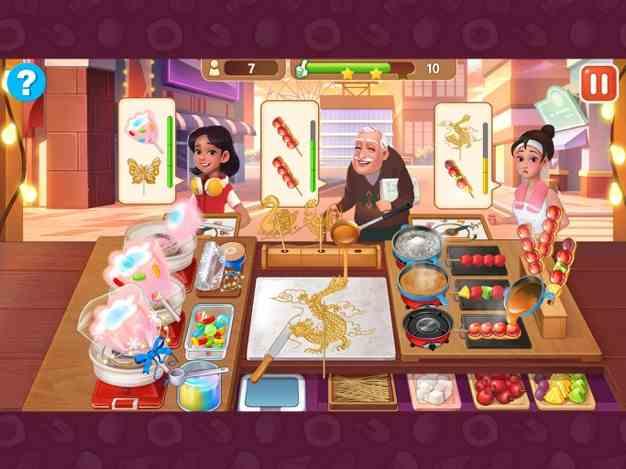楼下的早餐店:美食烹饪游戏截图欣赏